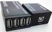 Extender USB 2.0 vers RJ45 1 entrée 4 sorties sur 100m max CAT 6 CAT 6a