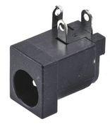 Fiche d'alimentation connecteur DC mâle à souder sur circuit