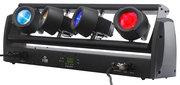 Barre à 4 Projecteurs Contest FIRESTORM - LED 10W RGBW - Mouvements Pan et Tilt