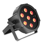 Projecteur CAMEO PAR FLAT 7 x LEDs RGBW haute puissance 4 W