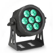 Par led Cameo Flat PRO 7 - 7X10W RGBWA avec boîtier noir