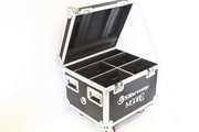 flight case pour 4 Lyres Starway MODE C lyre Beam LED