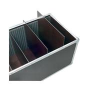 Malle pour 6 PC 1000 W - 6 compartiments 350 x 260 x 660 mm