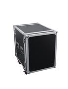 Flight Case rack 12U sur roulettes 2 capots fermetures Pro