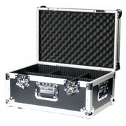 Flight case male de transport 6 compartiments 550 x 345 x 210 Version 9mm PRO