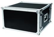 Flight case pour rack d'effet 6U 2 capots version fermeture grenouille