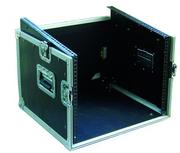 Rack de régie 6U vertical et 10U horizontal avec capots Haut et face avant