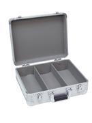 Flight case pour 80 à 90 CD gris alu