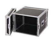 Flight case rack betonex 8U 2 capots