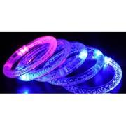 bracelet lumineux LED bulles