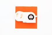 Douille à clips arrière à verrouillageavec starter pour tube fluo ou néon T8 ou T12 en G13