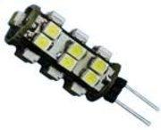 Ampoule G4 25 leds blanc froid 12V 1W