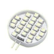 Ampoule G4 24 leds blanc chaud 12V 1,2W