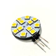 Ampoule G4 12 Led  5050 blanc chaud 12v