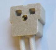 Support pour lampe à Douille G9.5 type HPL...
