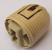 Support G9 avec cabochon plastique pour fixation M10