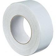 Gaffer blanc PVC strié 45mm X 45m Découpe à la main