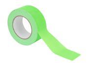 Gaffer Fluo vert toilé 25m largeur 50mm