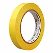 Adhésif marquage console professionnel 18 mm x 30 m jaune
