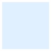 feuille Gélatine 122 X 53 cm Half New Colour Blue 502 LEE FILTERS