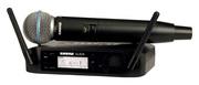 Micro Shure - GLXD24E-B58-Z2 Complet - Emetteur main Beta58 - Bande Z2