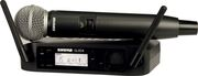 Micro Shure - GLXD24E-SM58-Z2 Complet - Emetteur main SM58 - Bande Z2