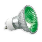 Lampe GU10 Omnilux 240V 50W 25° Vert