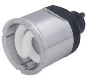 Ampoule GU10 fluo economique 11W 2700K blanc chaud