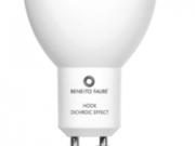 AMPOULE LED HOOK GU10 6W 220V 60º DICHROIC EFFECT LED 2700k