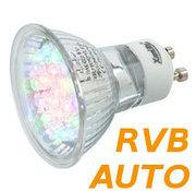 Lampe à led RVB à Changement de couleur GU10 230v