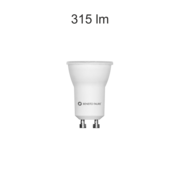 Ampoule Led GU10 35mm Beneito et faure Tutto 4W 3000K 60°