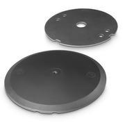 Base lourde ronde Gravity WB 123 SET 1 B pour pied enceinte filetage M20 avec plaque de lest
