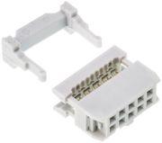 Connecteur HE10 femelle 10 pts
