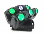 Effet Led Beam Nicols INDECURVE6 6 faisceaux beam 12W RGBW indépendants