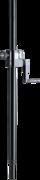 Barre de couplage à treuil K&M 21338 pour enceinte avec embase 35mm