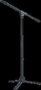 Pied micro K&M 27105 base trépied Hauteur 90 160cm perchette 805mm