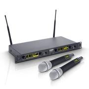 Système de 2 Micros Main dynamique sans Fil LD Systems WIN 42 HHD 2 B 5 516 à 558 MHz.