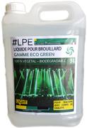 Liquide brouillard eco green light pour machine à corps de chauffe