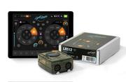 Interface avec boîtier Light Rider DMX 512 canaux pour DJ