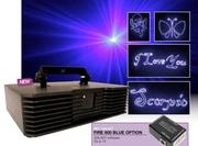 Laser bleu 800mW FIRE 800 ILDA DMX