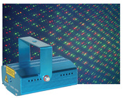 Laser Mini Fire - bicolore vert 50mW + rouge 100mW musical et automatique