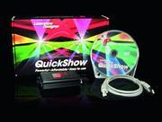 Interface ilda avec logiciel PANGOLIN QUICK SHOW