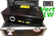 Laser 1000mW vert radiation 20kPPS