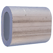 Manchon alu 5mm pour sertissage câble acier 5mm max