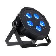 Projecteur led ADJ Mega HEX PAR RGBWA+UV 5x6w