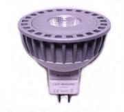 Ampoule Beneito Faure MR16 à led SHARP GU5.3 12V 6W blanc Chaud 2700K  60°