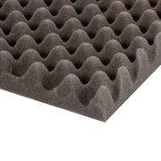 Mousse Polyuréthane alvéolée grise 200 X 100 X 3cm pour traitement acoustique studio