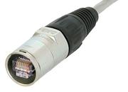 Capot Ethercon Neutrick NE8 MC à monter sur cable RJ45 vendu séparément