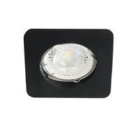 Plafonnier encastrable 50mm fixe carré noir