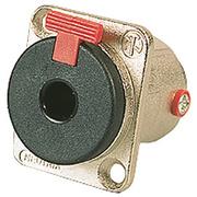 Embase Neutrik Jack femelle 6.35mm stéréo type D